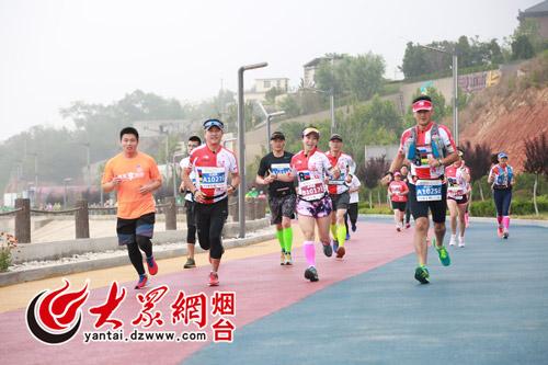 2017烟台长岛听风山地马拉松顺利开跑!